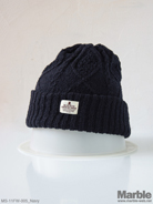 Mighty Shine Cable Knit Cap