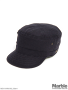 Mighty Shine Wool Degaulle Cap