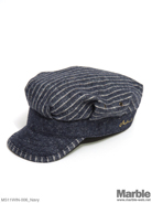 Mighty Shine Stripe Work Cap