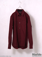 LOSTHILLS 1920 High Necked Check Shirt