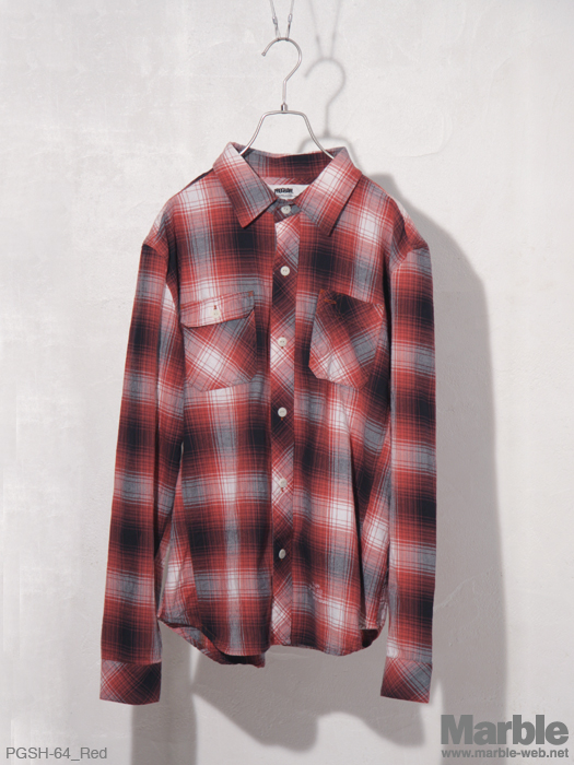 PROGRAM Hombre Check Shirts �I���u���`�F�b�N�V���c