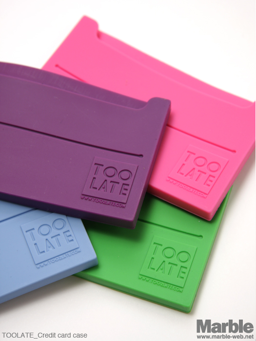 TOOLATE Credit card case