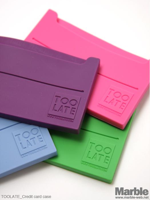 TOOLATE Credit card case