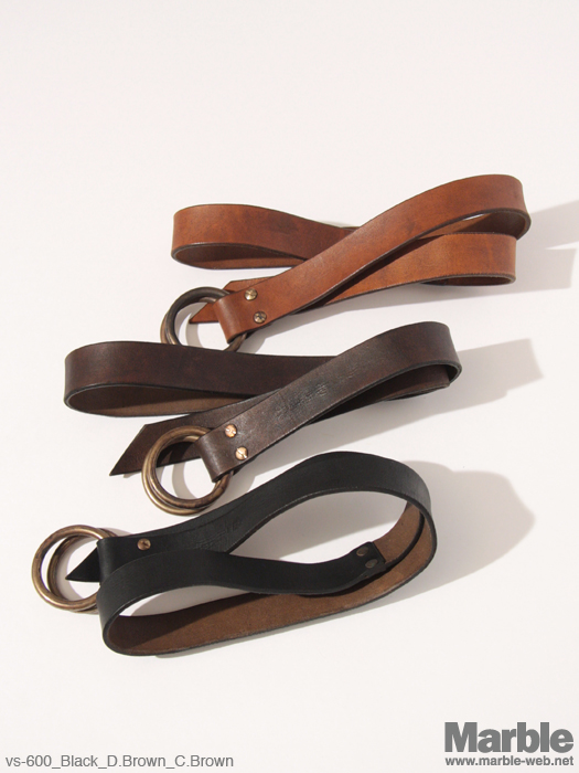 vasco Ring Leather  Belt