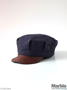 vasco Canvas�~Leather Work Cap