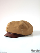 vasco Canvas�~Leather Casquette