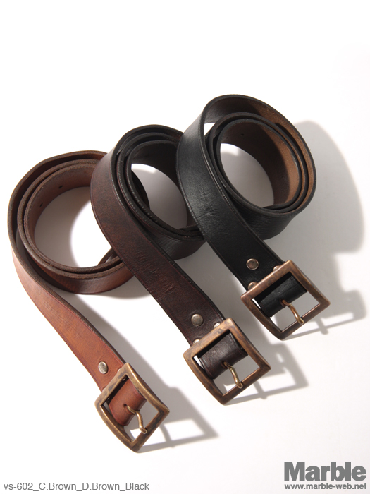 vasco Leather Garrison Belt