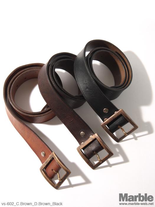 vasco Leather Garrison Belt